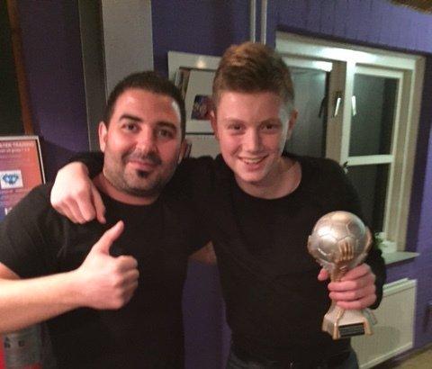 Hassan en winnaar Roel van Eck