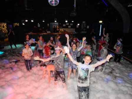 Schuimparty juni 2015