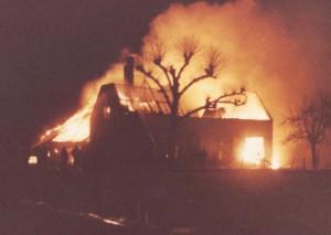 Brand hele gebouw