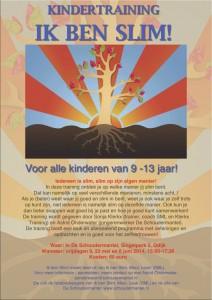 Poster Ik ben Slim Schoudermantel 2014