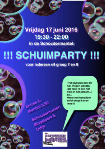 Schuimparty 2016