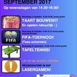 Activiteiten 10-12 jaar september
