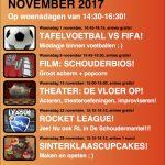 Activiteiten 10-12 jaar november