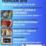 Activiteiten februari 10-12 jaar