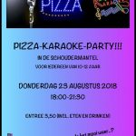 Pizza-Karaoke-Party 23 augustus